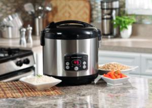 Hamilton Beach Digital Simplicity Deluxe Rice Cooker:Steamer