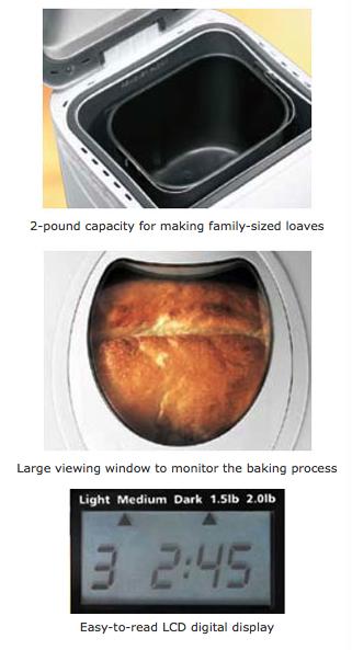 Sunbeam 5891 2-Pound Programmable Bread Maker Machine