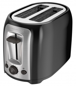 BLACK+DECKER TR1278B 2-Slice Bread and Bagel Toaster