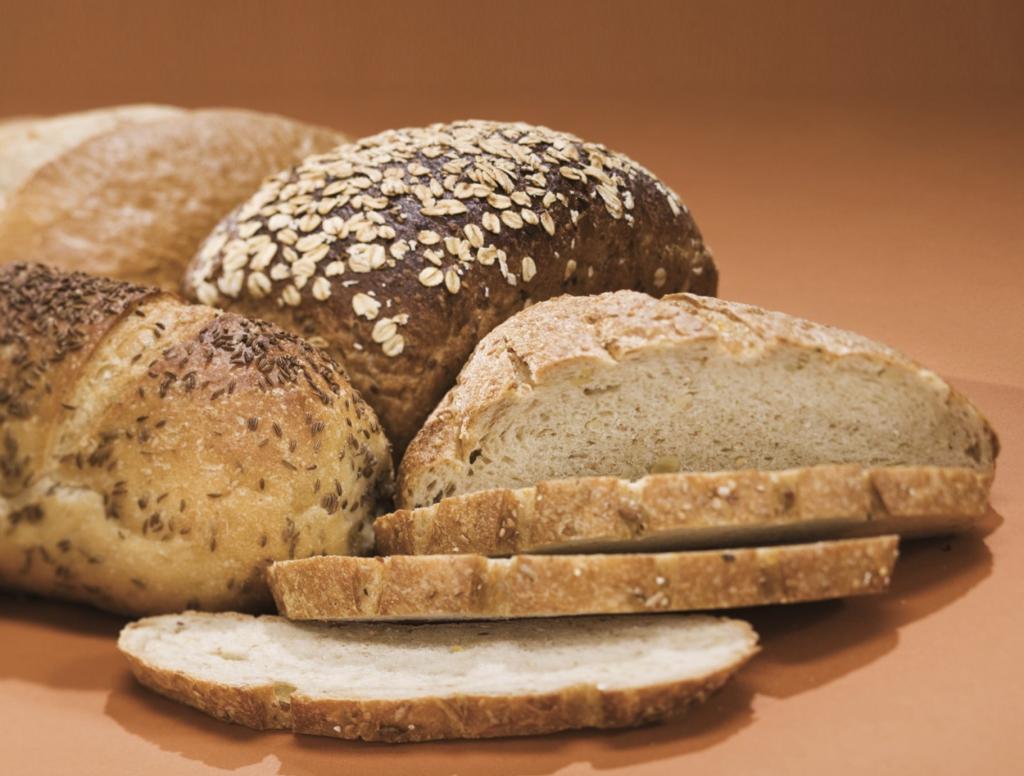Hamilton Beach 29882 Programmable Bread Machine 2-Pound Bread Maker - fresh bread at breakfast
