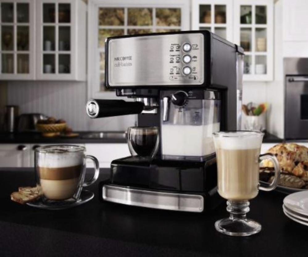 Mr. Coffee ECMP1000 Café Barista Premium Espresso Cappuccino System