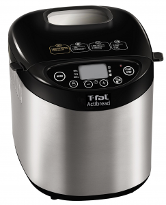 T-fal PF311E ActiBread Programmable Bread Machine Stainless Steel Housing Nonstick Coating Automatic Bread Maker - 3 programs